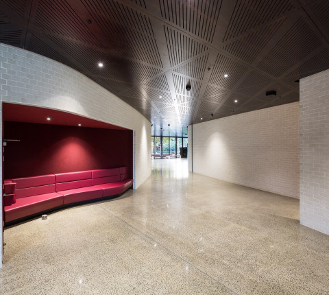 Firth Focus® Brick creates a stunning feature wall at AUT South Campus