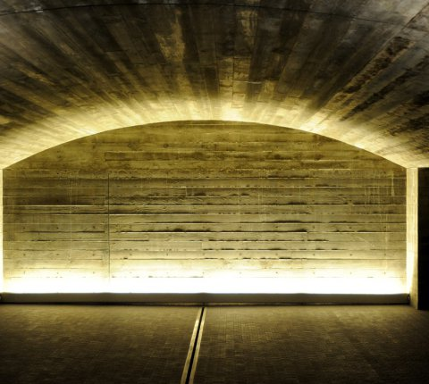 Firth Creates a Work of Art with Concrete Ceiling at Elephant Hill Winery
