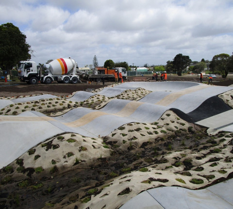 World class BMX track in Auckland