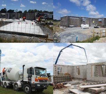 Concrete Showhome Build