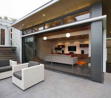 Designer Concrete Indoor Outdoor Space