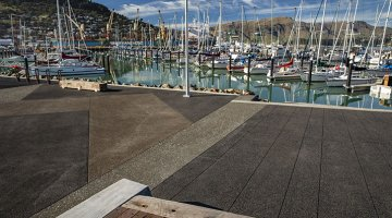 Specialist concrete mixes for Lyttelton's new marina facility