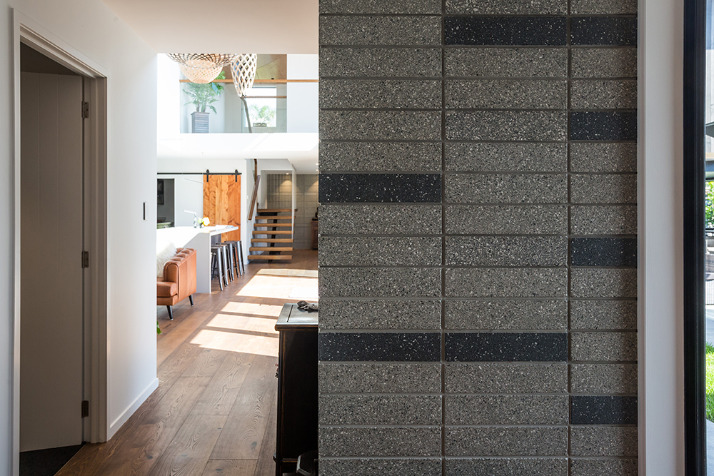 Beautiful blockwork a feature of Pt Chev home Image