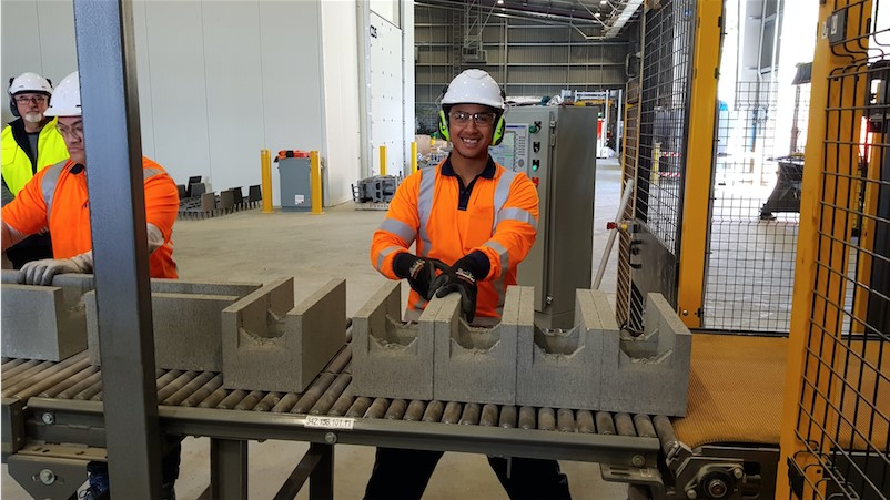Firth builds new $30m masonry block plant Image