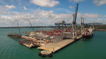 Firth's concrete expertise required at container terminal