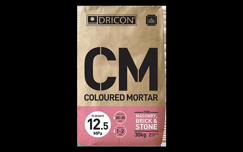 Dricon Coloured Mortar