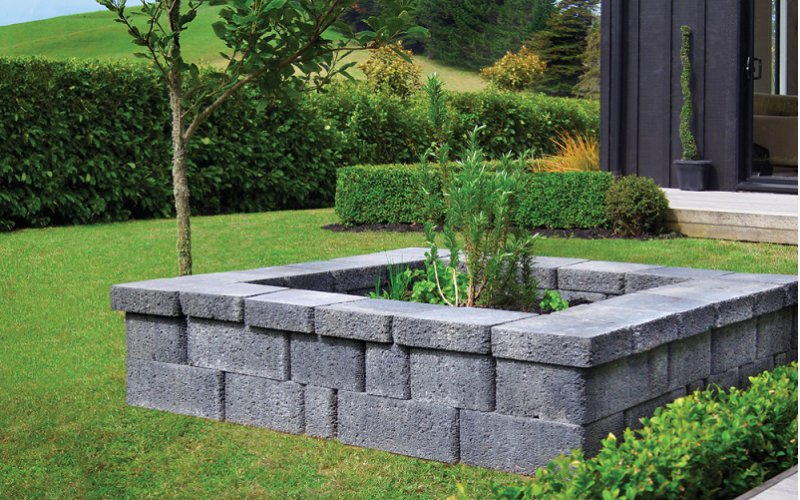 Country Manor® Square Planter