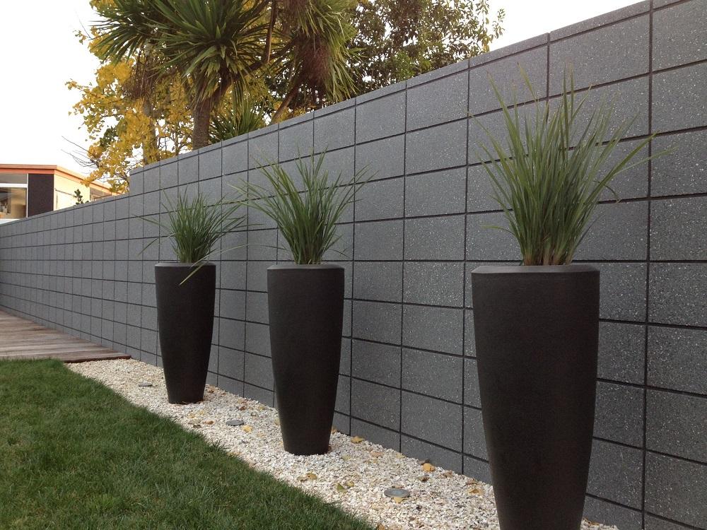 Concrete Fence Walls : Firth retaining walls fences concrete