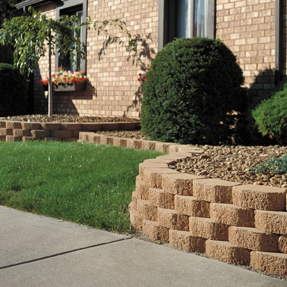 Keystone Garden Walls Retaining blocks Lawn Edging Blocks Firth