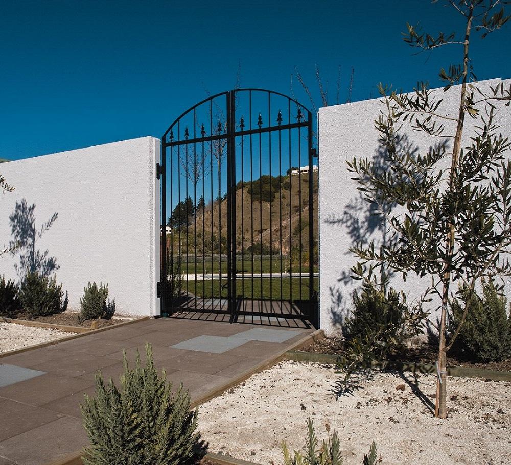 Stone Block Fence : Masonry fences firth blocks concrete block