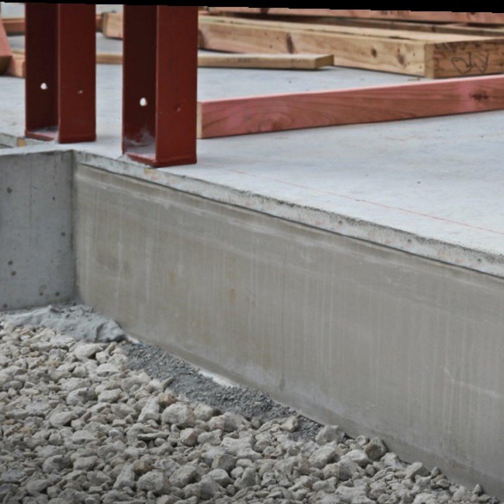 RibRaft HotEdge after concrete pour2