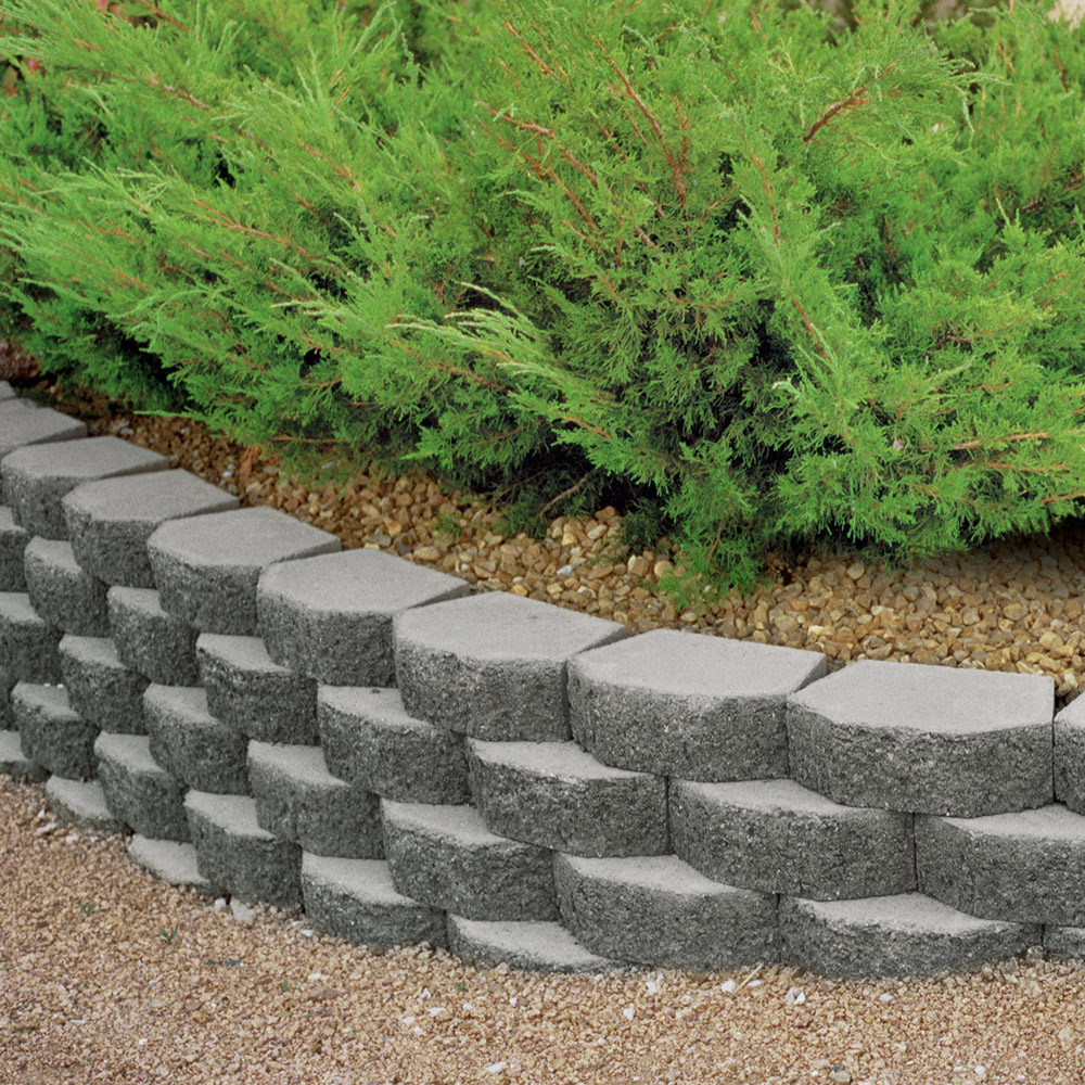 retaining a garden and to wall blocks block concrete adhesive how projects inline gardening apply outdoor project build