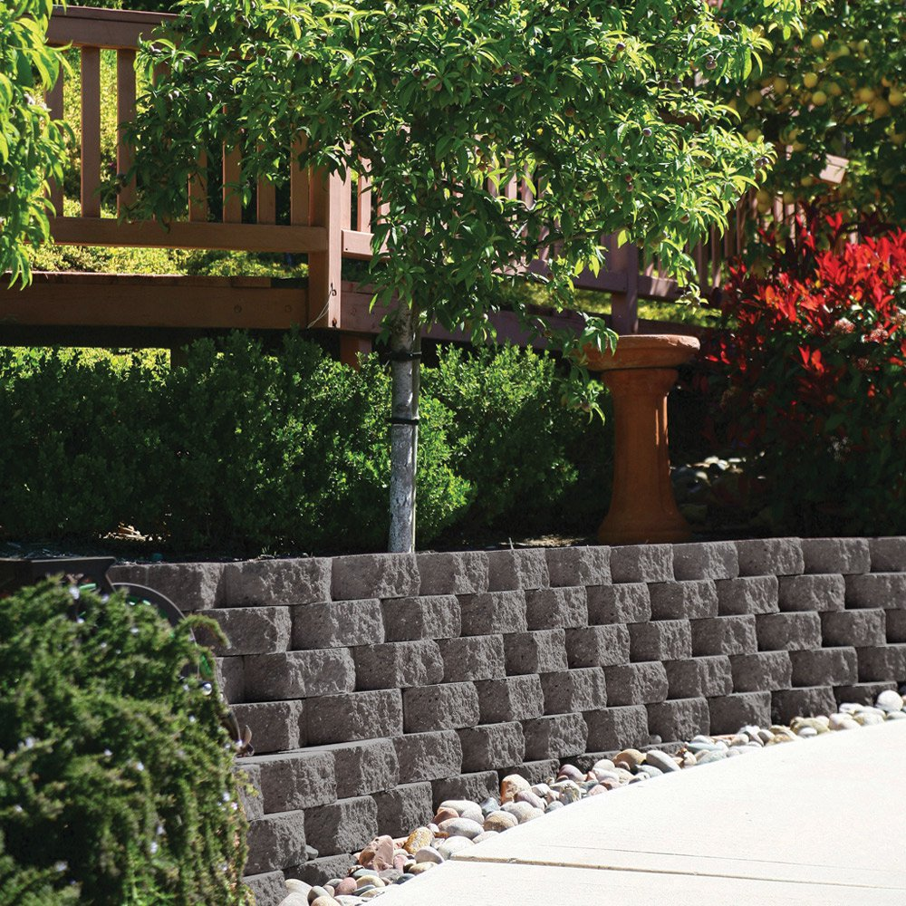 Keystone Garden Walls Retaining Blocks Lawn Edging