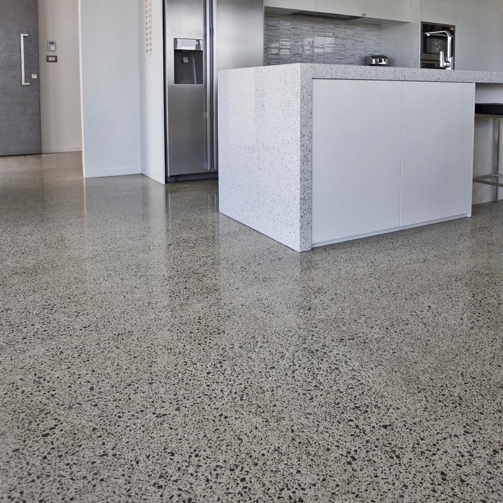 Ribraft floors foundations concrete floor firth for Polished concrete floors nz